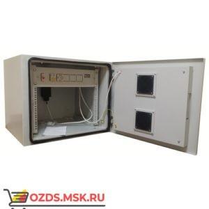 Всепогодный телекоммуникационный шкаф 6U, гл. 600 мм