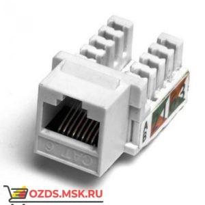 Модуль Keystone Кат.6, RJ458P8C, 90°, тип заделки Dual IDC