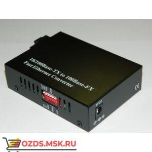 WDM 10100 медиаконвертер, SM, SC, 1550nm, 20 km с DIP переключателем