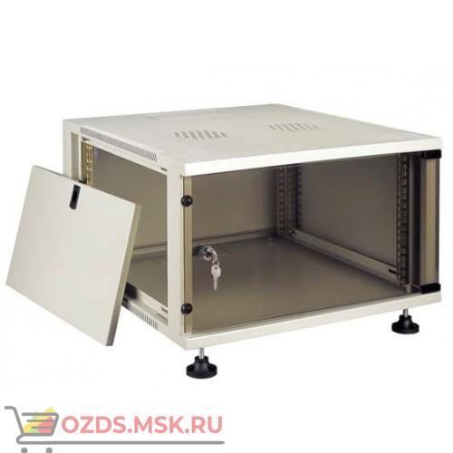 Шкаф телекоммуникационный настенный 25U (540x600х1155) дверь стекло, цвет-серый