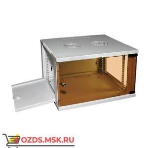 Шкаф телекоммуникационный настенный 12U (540x450х580) дверь стекло, цвет-серый