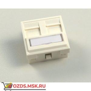 Вставка 2xRJ-45 KEYSTONE модуль 45х45