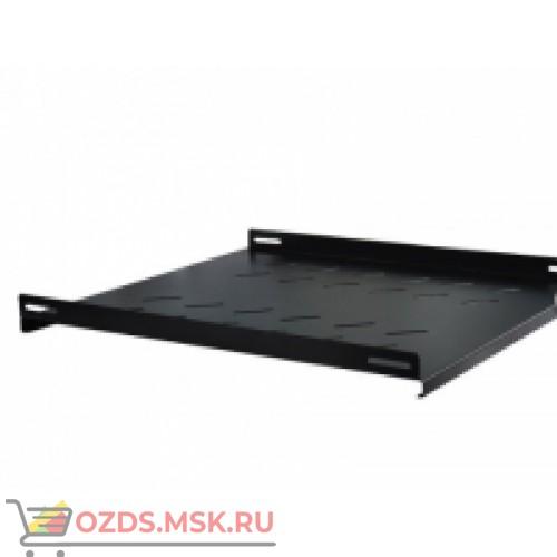 Полка стационарная для шкафа гл. 1000, цвет-черный