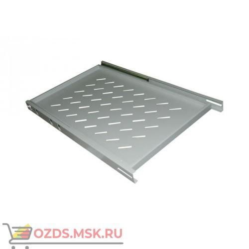 Полка выдвижная для шкафа гл. 800, рабочая гл. 550 мм., цвет-серый