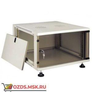 Шкаф телекоммуникационный настенный 12U (540x600х580) дверь стекло, цвет-серый