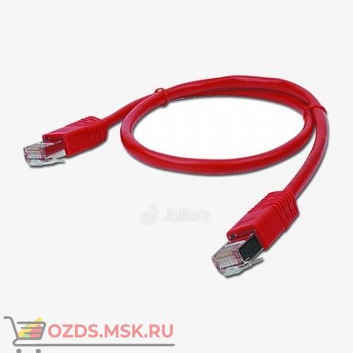 Патч-корд UTP 6а кат. литой 2.0 м КРАСНЫЙ
