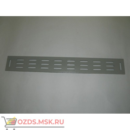 Вертикальный кабельный органайзер 22U, шириной 82 мм, серый