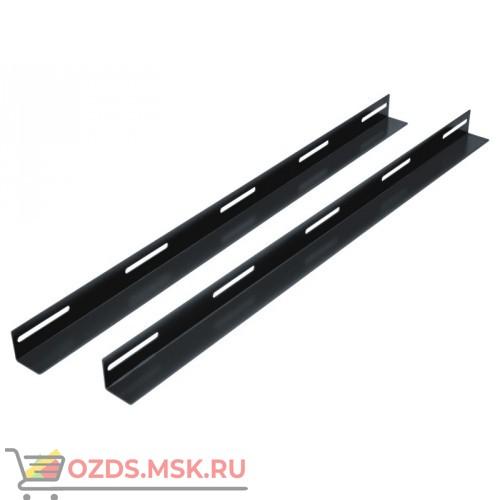 Направляющие (уголки) для шкафов гл. 800 мм, цвет-черный
