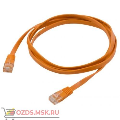 Патч-корд UTP 5e кат. литой 0.5 м LSZH, ОРАНЖЕВЫЙ