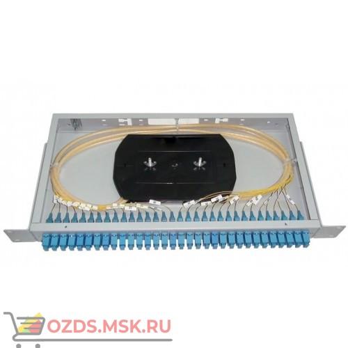 Кросс оптический 19, 1U, КОС-32 LC,SM укомплектованный