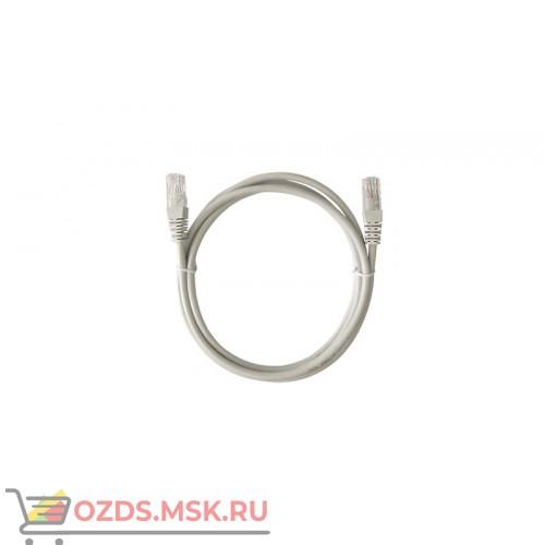 Патч-корд UTP 6 кат. литой 1.5 м СЕРЫЙ