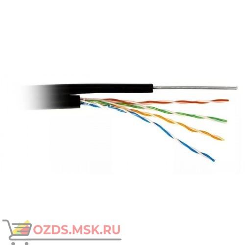 Кабель UTP 2PR 24AWG CAT5e 305м + ТРОС наружный Lan-Cable