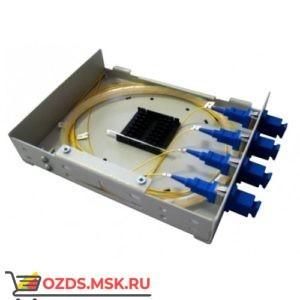 КОНм-4 SC,SM укомплектованный: Кросс оптический настенный, микро,