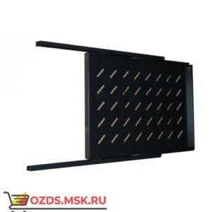 Полка выдвижная для шкафа гл. 600, рабочая гл. 350 мм., цвет-черный