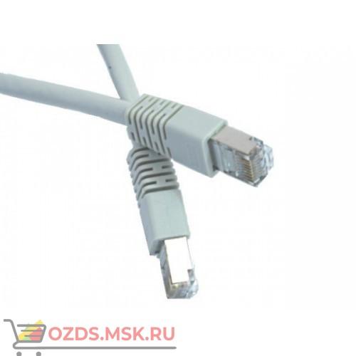 Патч-корд FTP 6 кат. литой 5.0 м СЕРЫЙ