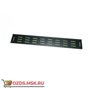 Вертикальный кабельный органайзер 18U, шириной 82 мм, черный