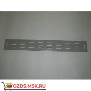 Вертикальный кабельный органайзер 18U, шириной 82 мм, серый