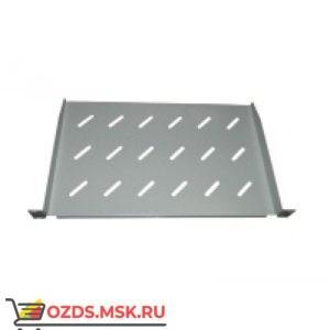 Полка консольная 2U гл. 370 мм, цвет - серый