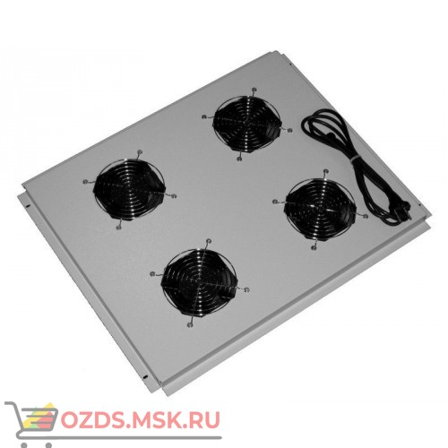 Модуль вентиляторный с 4 вентиляторами 600х800, серый