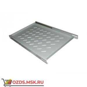Полка выдвижная для шкафа гл. 600, рабочая гл. 350 мм., цвет-серый