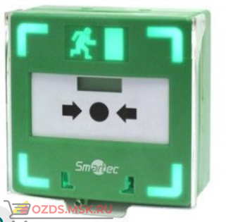 ST-ER116TLS-GN Устройство разблокировки двери с восстанавливаемой кнопкой активации