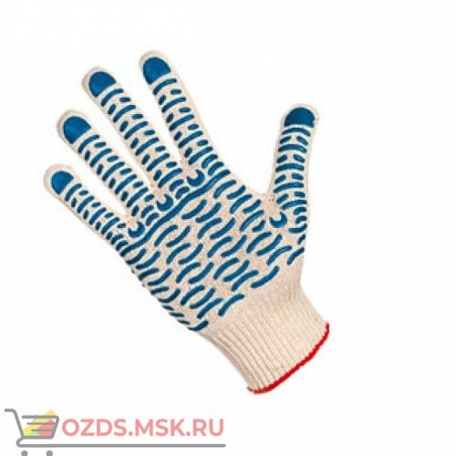 Перчатки хб с ПВХ 7,5 класс Волна (42 грп)