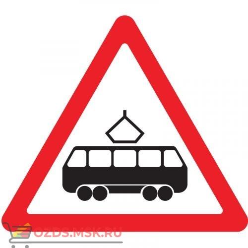 Дорожный знак 1.5 Пересечение с трамвайной линией (A=900) Тип В