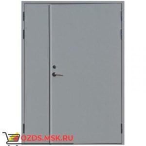 Дверь противопожарная двупольная ДПМ-0260 (EI 60) (левая) 1200Х2100 с доводчиком (по коробке 1170Х2080)