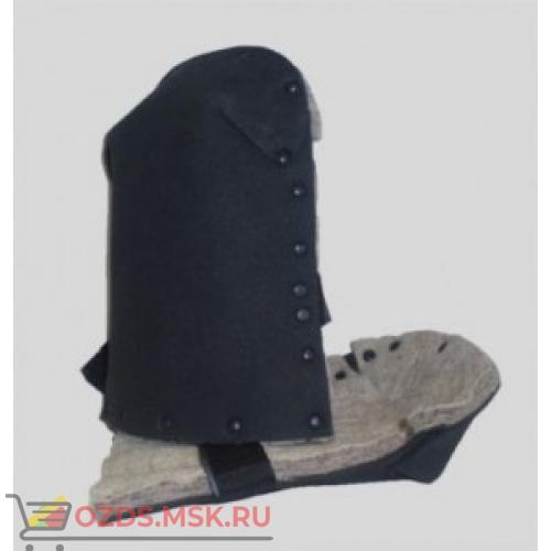 Наколенник Защитый профессиональный НЗП 01 термостойкий кожаный