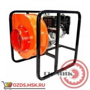 ДПМ-7 (4ЦП) для боевых пожарных расчетов с приводом от двигателя внутреннего сгорания: Дымосос