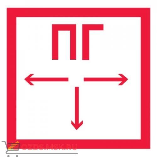 Знак F09 Пожарный гидрант ГОСТ 12.4.026-2015 (Пленка 200 х 200)