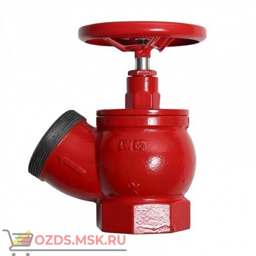 Клапан 51 мм, чугун (угловой, 125 градусов) КПЧ 50-2 (цапка-цапка)