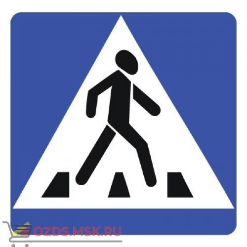 Дорожный знак 5.19.2 Пешеходный переход (B=700) Тип Б
