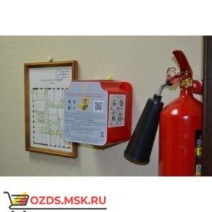 Контейнер для огнетушителя и сиз марки «Шанс» пустой
