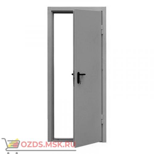 Дверь противопожарная однопольная ДПМ-0160 (EI 60) (левая) 980Х2120 с доводчиком (коробка 950Х2100)
