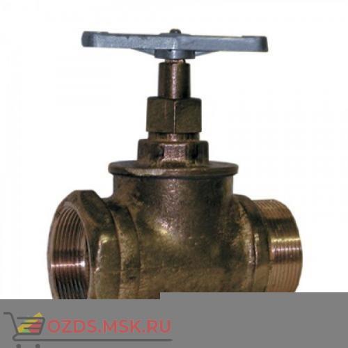 Клапан 65 мм, чугун прямоточный КПЧП 65-1, РУ 1,6 МПА (муфта-цапка)