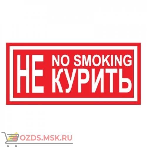 Знак T13 Не курить. No smoking (Пленка 100 х 200)