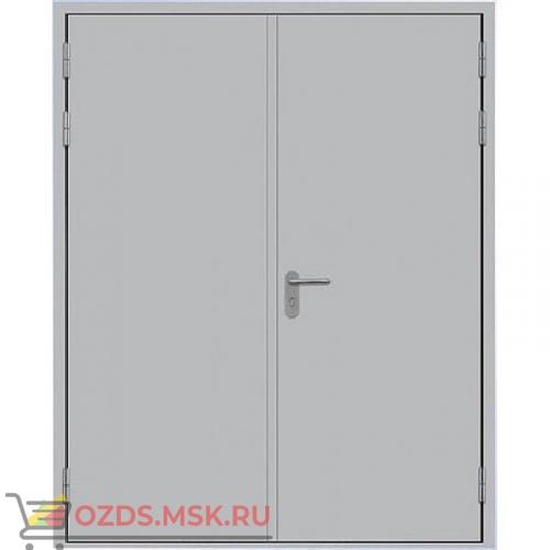 ДПМ-0260 (EI 60) (левая) 2350Х2500 без порога равнопольная (коробка 2320Х2480): Дверь противопожарная двупольная