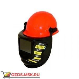 Защитый лицевой щиток сварщика КН PRESIDENT с креплением на каске