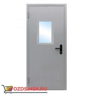 Дверь противопожарная остекленная ДПМО-0130 (EI 30) (левая) 1000Х2100