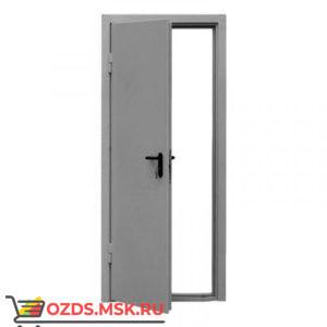 ДПМ-0160 (EI 60) (левая) 1190Х2140 с доводчиком (коробка 1160Х2120): Дверь противопожарная однопольная