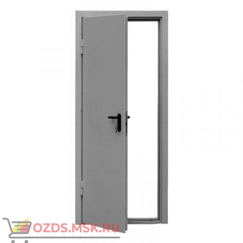 Дверь противопожарная однопольная ДПМ-0160 (EI 60) (левая) 1190Х2140 с доводчиком (коробка 1160Х2120)