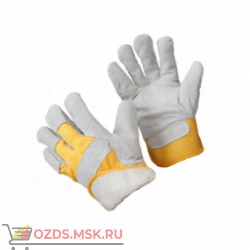 Перчатки спилковые комбинированные улучшенные