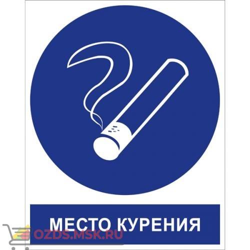 Знак M15K Место курения (Пластик 250 x 200)