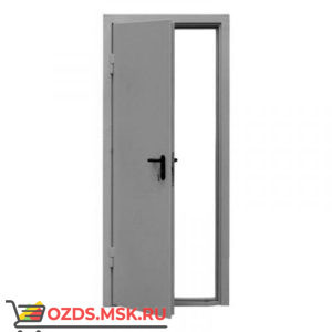 ДПМ-0160 (EI 60) (левая) 970Х1770: Дверь противопожарная однопольная