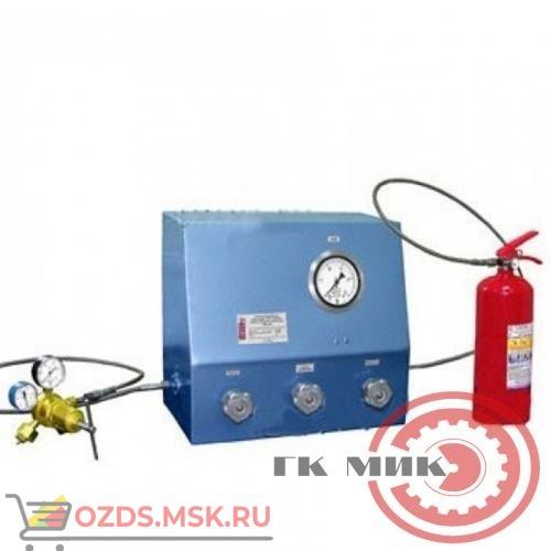 Стенд для испытаний на герметичность ЗПУ и заправки закачных огнетушителей воздухом ТЦ-50