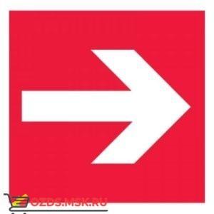 Знак F01-01 Направляющая стрелка ГОСТ 12.4.026-2015 (Пластик 200 х 200)