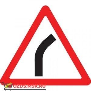 Дорожный знак 1.11.1 Опасный поворот (A=900) Тип Б
