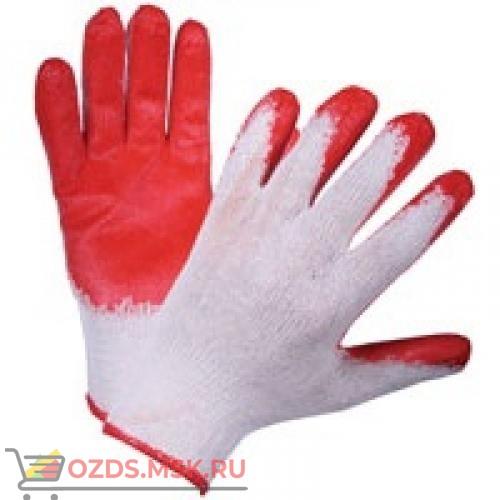 Перчатки хб с латексным покрытием (один облив)