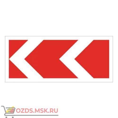 Дорожный знак 1.34.2 Направления поворота (1160 x 500) Тип Б